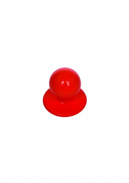 12x Kugelknopf rot