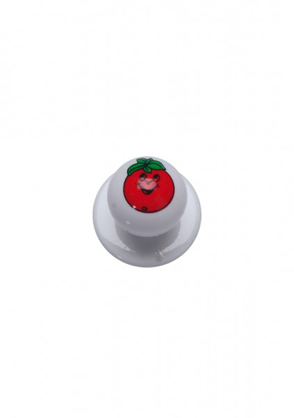 12x Kugelknopf Tomate