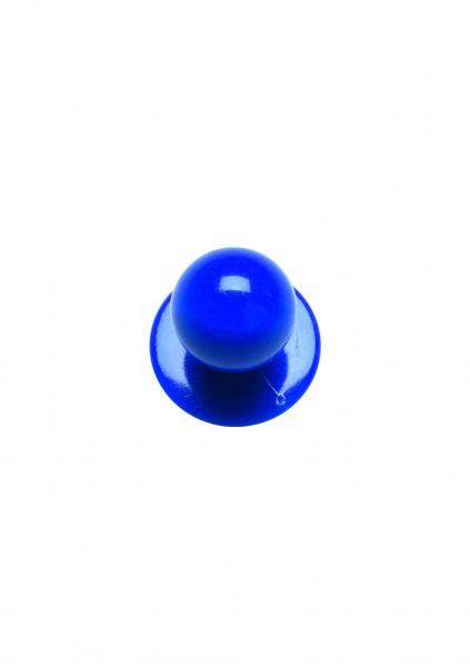 12x Kugelknopf Blau
