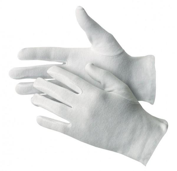 Baumwollhandschuhe Weiß