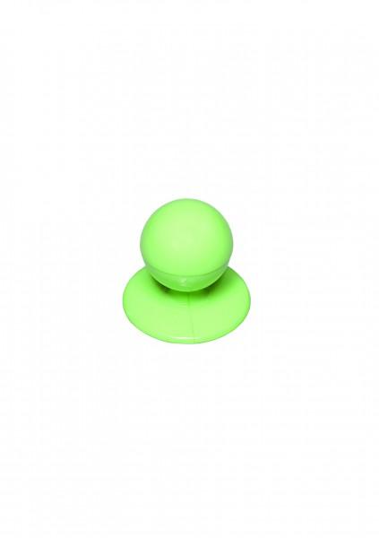 12x Kugelknopf Apfelgrün