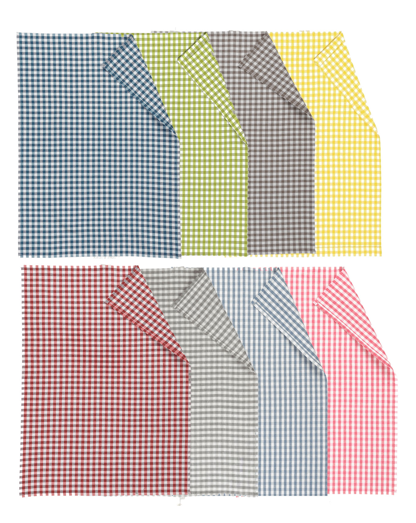 Geschirrtuch kariert - Osby von Linum in 8 verschiedenen Farben