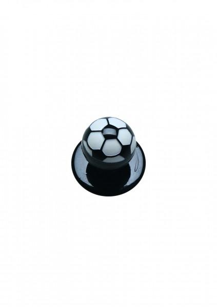 12x Kugelknopf Fußball