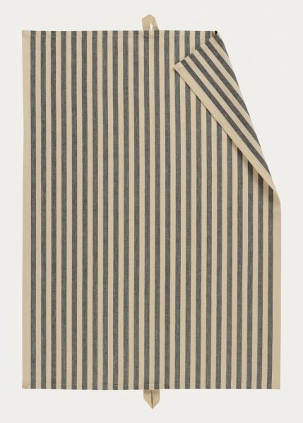 Linum Geschirrtuch gestreift - SLUSSEN in 2 verschiedenen Farben-100% Baumwolle
