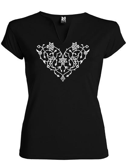 T-Shirt/ Orient Herz/ Damen