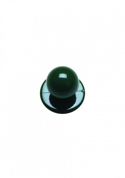 12x Kugelknopf grün