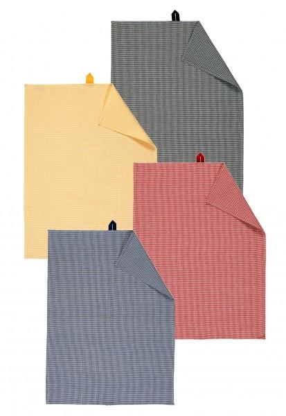 Geschirrtuch kariert - Petite von Linum in 4 verschiedenen Farben