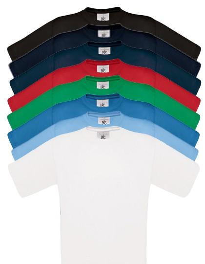 T-Shirt Herren mit Rundhals, verschiedene Farben