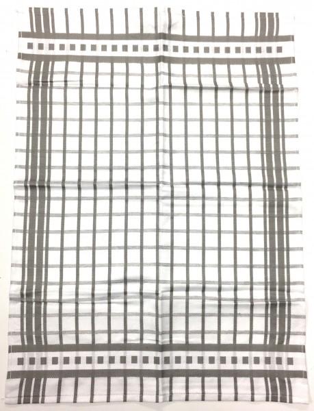 2-er Pack Geschirrtuch Karo-Klassisch 50x70, Halbleinen
