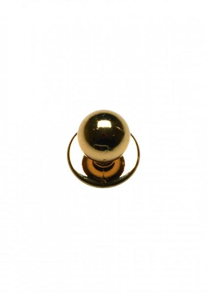 12x Kugelknopf gold
