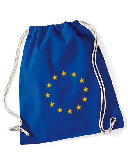 Turnbeutel Baumwolle/ EU-Sterne