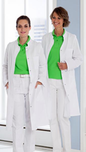 Damenmantel/ Laborkittel/ Arztkittel, 100% Baumwolle