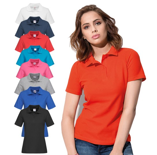 Poloshirt Short Sleeve/ Damen