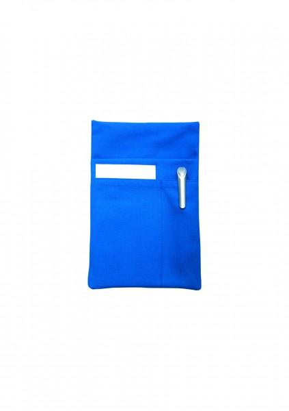 Kassierhalfter aus Mischgewebe 3 Steckfächer in 30 Farben - von Karlowsky